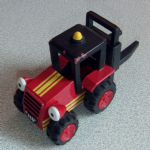 Bob the Builder Sumsy the Forklift Die-cast model